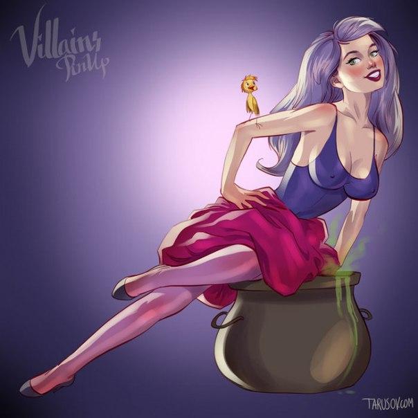 T1r zvT8o1A - Очаровательные принцессы и обольстительные ведьмы Диснея (+18)