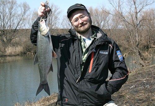 рыбачим на жереха