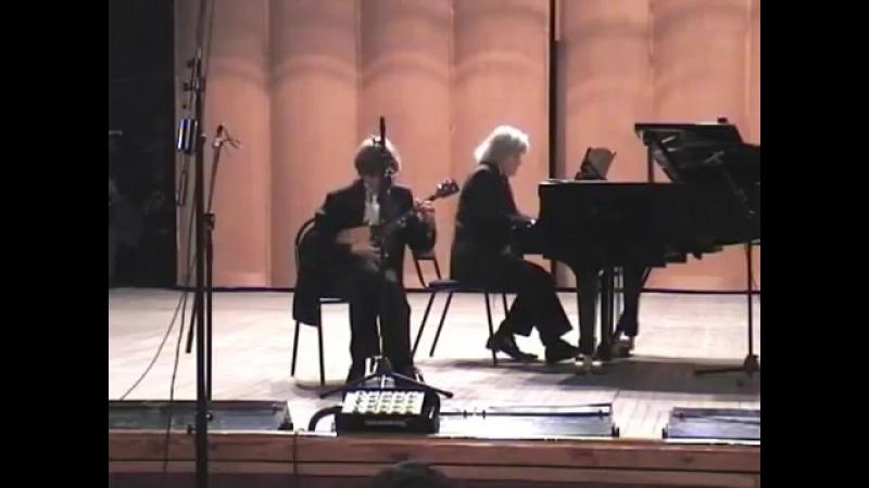 Концерт №2 для балалайки с оркестром А.И.Марчаковского, первая часть.