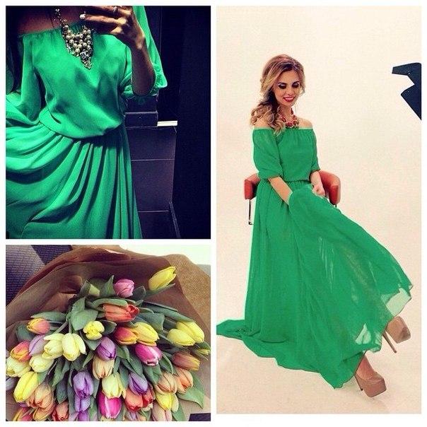 Лав репаблик платья зеленое