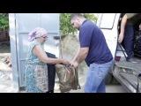 Харьковские волонтеры и Bushido KARATE: Сбор гуманитарной помощи в Покотиловке