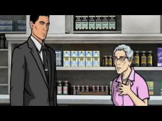 Спецагент Арчер / Archer 2 сезон 9 серия. Смотреть онлайн - Видео - bigmir)net
