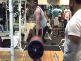 Влад Алхазов, становая тяга - 360 кг на 3 раза, без ремня!