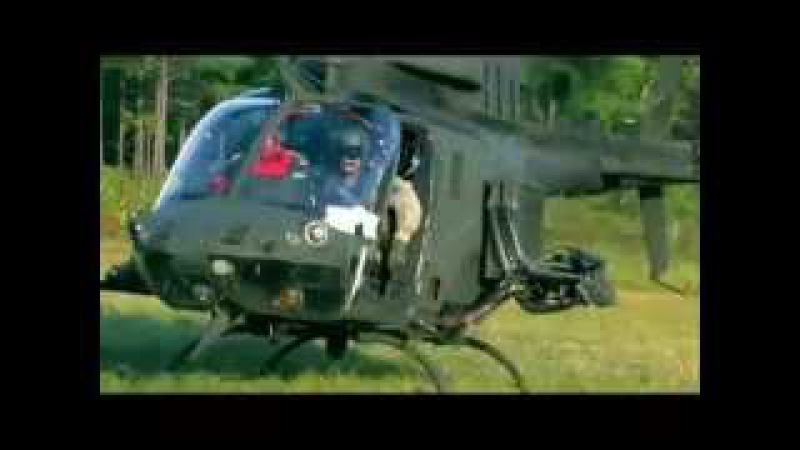 GAU-19/B machine gun on the OH-58D Kiowa Warrior Helicopter