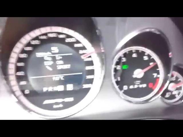 Mercedes E63 AMG Разгон 0 100km максимальная скорость 330km h