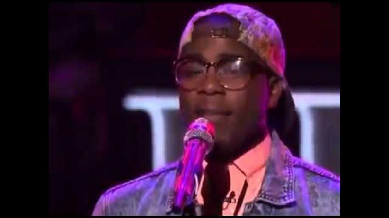 [HD] American Idol 2013 Ep 16 - Top 10 Guys - Burnell Taylor sings I'm Here (03.06.2013)