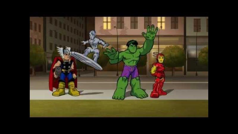 Отряд супергероев Знакомьтесь Дормаму Сезон 1 Серия 5 Marvel