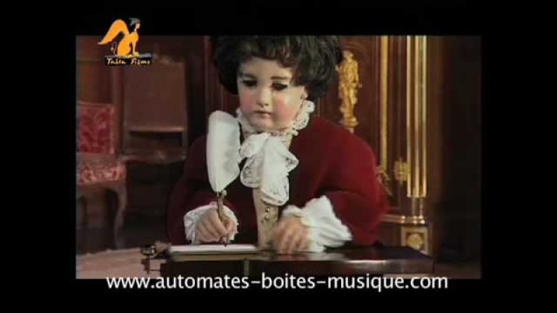Trailer of the DVD The Jaquet-Droz androids