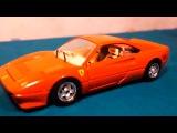 Видео для детей: Строим гараж для машинки: Кукольный театр: Учим  цвета: Машинки