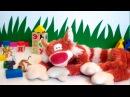Развивающий мультик Ученый кот Батон Алфавит Буква А Видео для детей