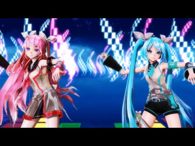 【MMD】LUVORATORRRRRY! 【Eng Ver.】- Tda PJD Luka X Miku HD 1080p