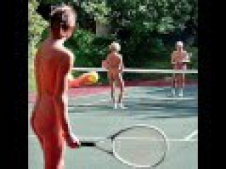 Nudist club members fear being SPIED on while playing tennis naked by residents of planned high rise
