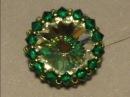 Sidonia's handmade jewelry - How to bezel a 16mm rivoli