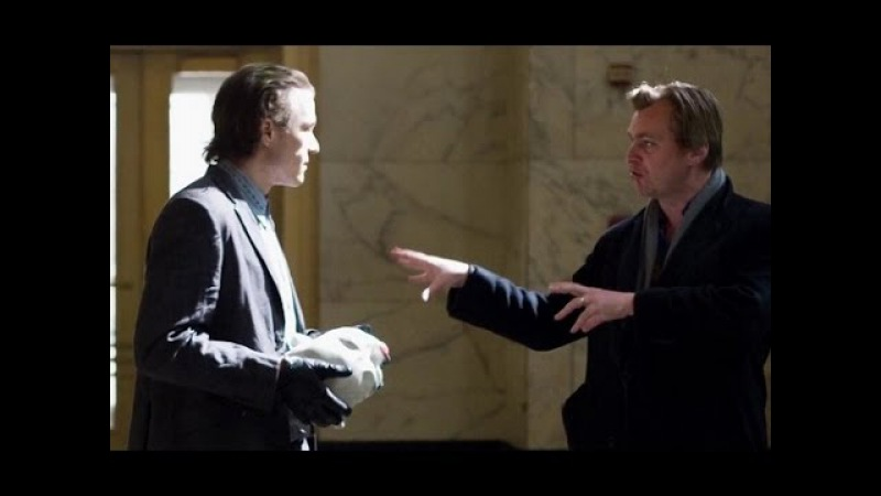 Christopher Nolan Talking about Heath Joker Ledger Behind the scene