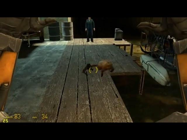 Гангста хедкраб Half Life 2