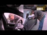 Porsche Panamera door opened in 10 seconds