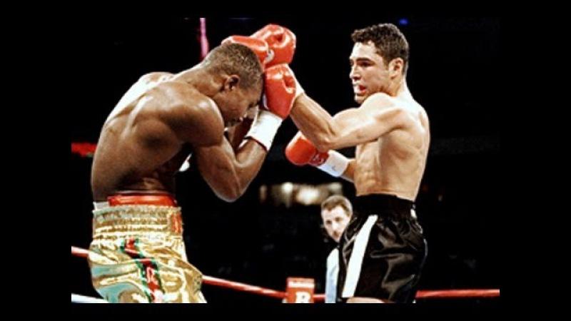 Oscar De La Hoya vs Ike Quartey - Highlights (Classic Welterweight FIGHT)