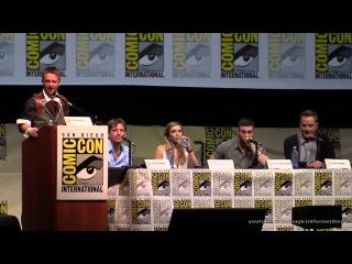 Панель с актерами и создателями  фильма «Годзилла» на фестивале  Comic Con / 20.07.2013