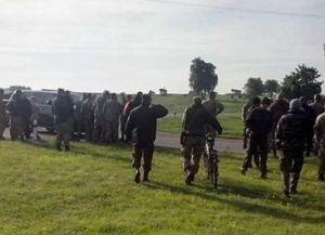 На Яворовском полигоне, где проходили американо-украинские учения,  ширится бунт призывников