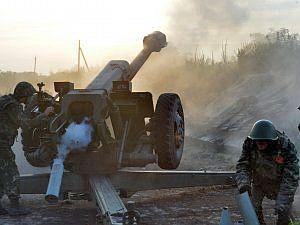 Украинские силовики нанесли сильнейший артиллерийский удар по Горловке