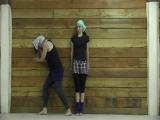 Фестиваль Акро-йоги на Алтае. Прекрасная Мария и Виктория Данилина.