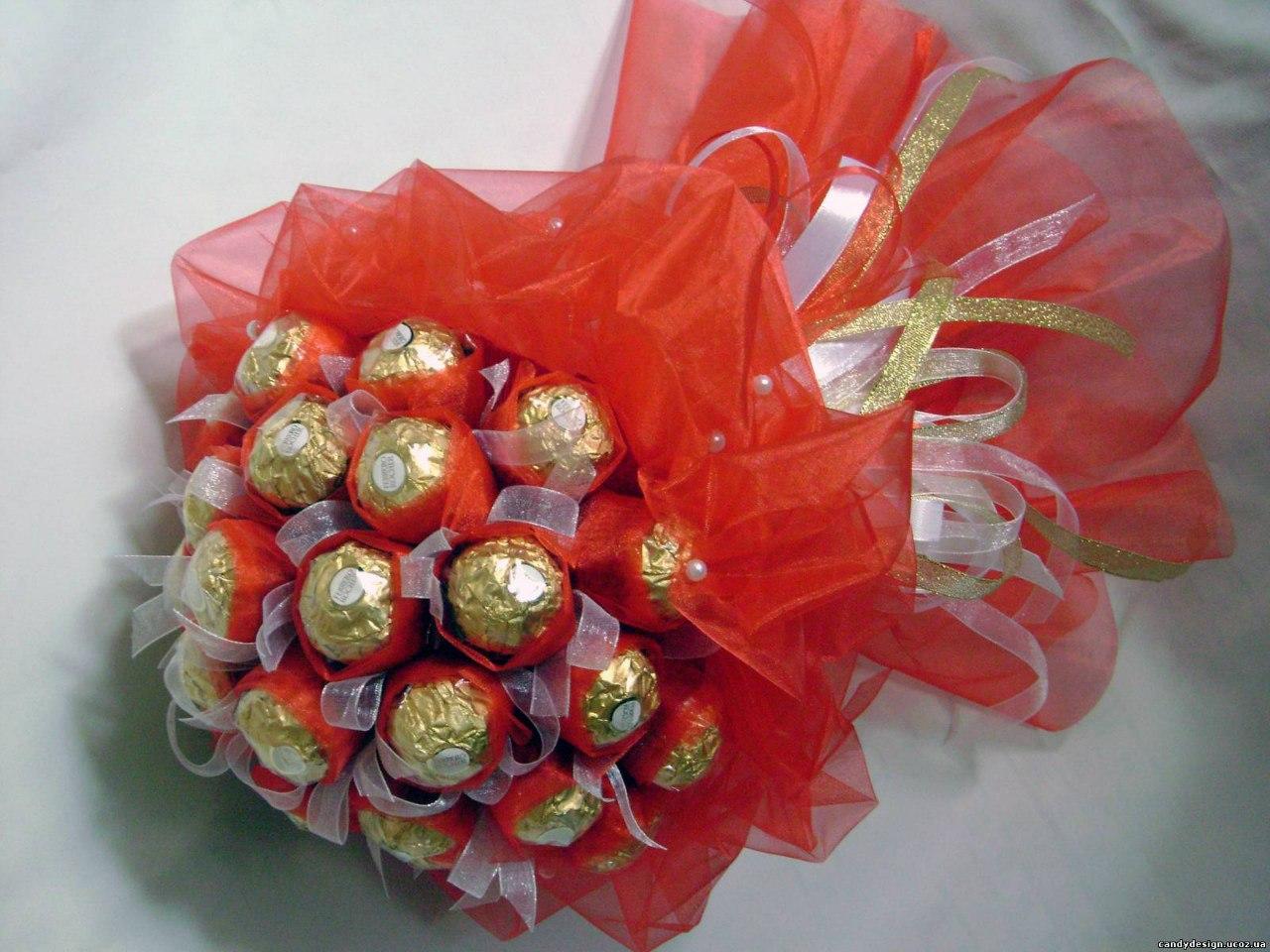 Букет из конфет своими руками пошаговый мастер класс с фото