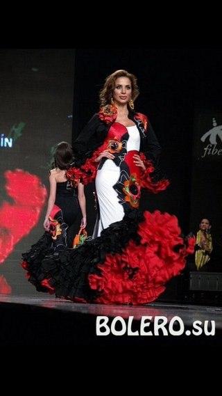 юбка для танца фламенко крой: