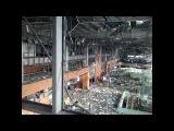 Разбомбленный русскими боевиками Донецкий аэропорт