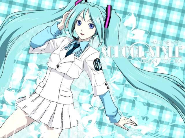 Miku Hatsune 8th Grade Loli Виктор Цой Восьмиклассница