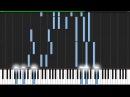 Loneliness (Kodoku) - Naruto [Piano Tutorial] (Synthesia) // DrJekyll MrHeil