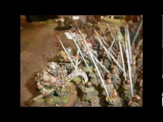 Battle Report1 by Stratego-Kings of War-Mantic-Gobos+Ogre VS. Men+Nature