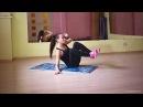 Упражнение. Боковое подтягивание ног к груди. Костина Анастасия #тренернастя