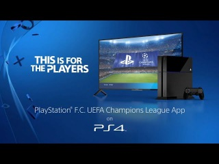 PlayStation F.C. UEFA Champions League | Exclusive to PS4