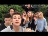 Румыния нас встретила в этот раз так , привет девочкам с города Яссы  :3