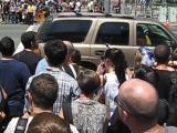 Colin Morgan  Katie McGrath Outside San Diego Comic-Con 2012 (7 14 12)