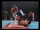 NJPW 04.02.1996 - Kazuo YamazakiOsamu Kido vs. Keiji MutohKensuke Sasaki