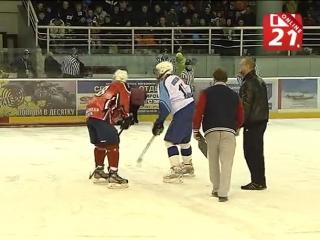 «Хаски» на лёд! Большой хоккей в Мурманске #СеверныеХаски