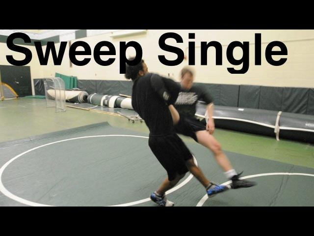 Sweep Single Leg Takedown: Basic Neutral Wrestling Moves and Technique For Beginners
