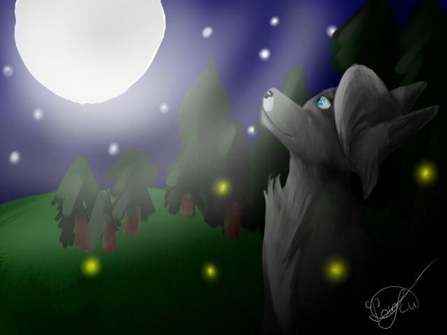 рисуе(фурри) волка