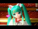 60fps Full Cat Ears Archive ネコミミアーカイブ Nekomimi Archive Hatsune Miku 初音ミク DIVA English Romaji