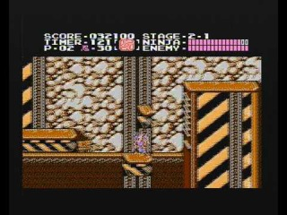 Ninja Ryukenden / 忍者龍剣伝 - Running on Dendy Junior-2 (PAL Famiclone)