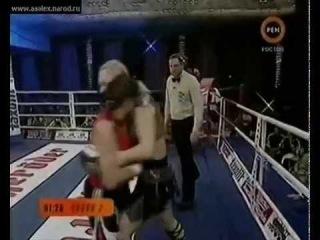 ►Наталья Рагозина - Тереза Пероцци! Суровый женский бокс!