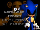 Sonic.exe react adventure Five Nights at Freddy's (featuring the tails doll)