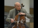 Janos Starker teaches Haydn D Major Concerto