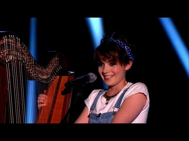Anna McLuckie performs 'Get Lucky' by Daft Punk The Voice UK 2014 Blind Auditions 1 BBC One