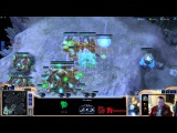 WhiteRa SC2 VOD - игра против агрессивного террана (PvT)