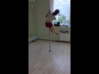 Тренировки) Валерия Хотенова - Сиудия pole dance