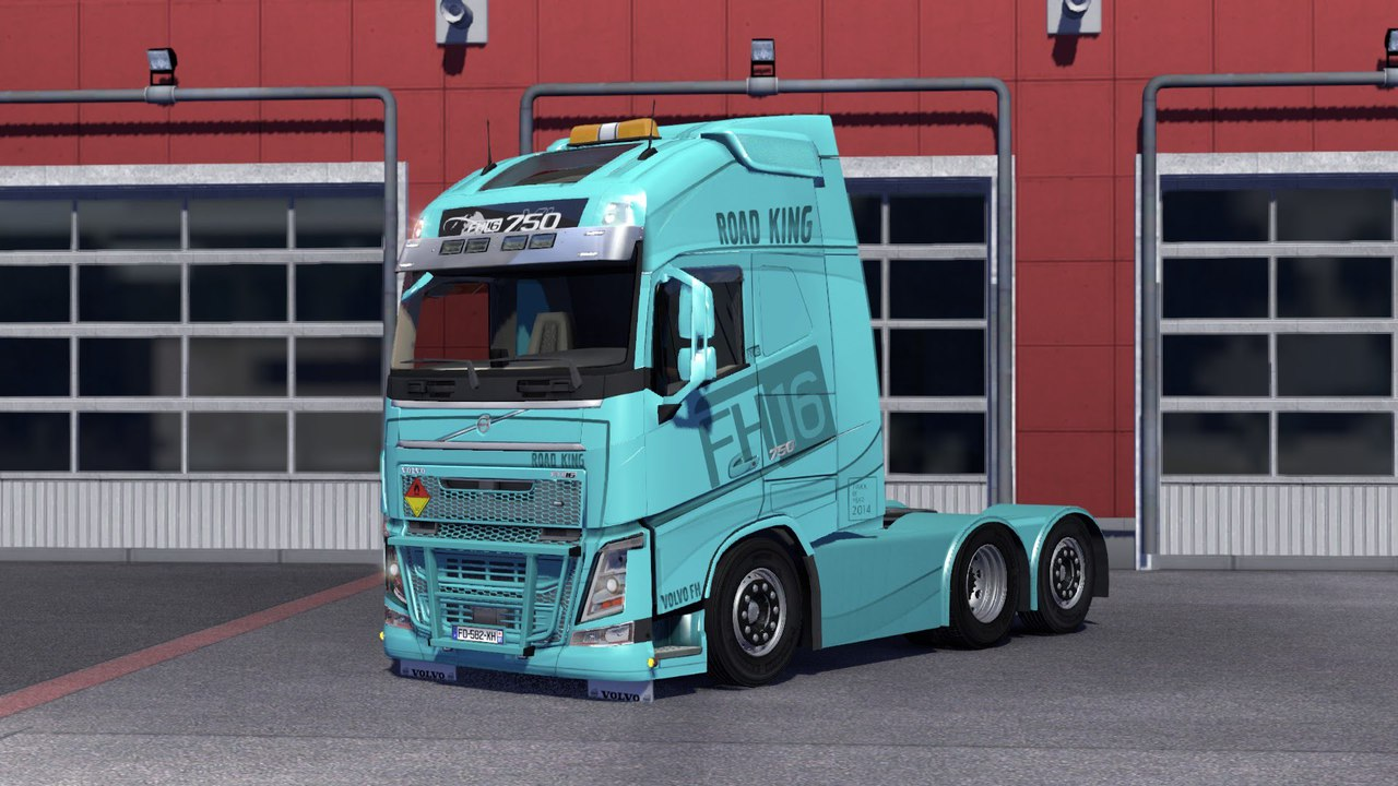 VOLVO FH16 2013 (OHAHA) для Euro Truck Simulator 2 - Скриншот 2