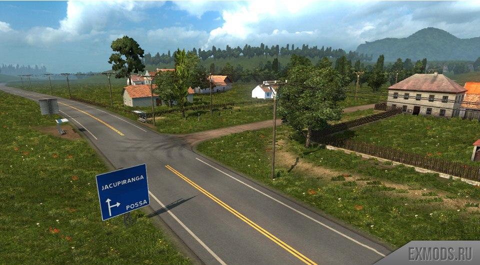 КАРТА ЭЛЬДОРАДО 1.4.5 для Euro Truck Simulator 2 - Скриншот 1