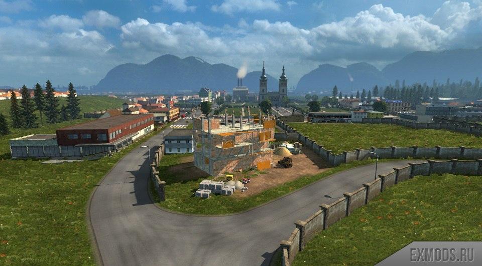 КАРТА ЭЛЬДОРАДО 1.4.5 для Euro Truck Simulator 2 - Скриншот 2